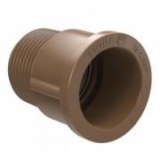 Solda Adaptador Curto Com Bolsa e Rosca Para Registro 60mm (2