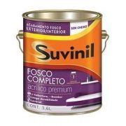 Tinta Acrilico Fosco Completo Suvinil Branco 3.6lt