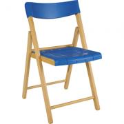Cadeira Potenza Natural Tramontina Azul
