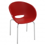 Cadeira Elena Tramontina Vermelha