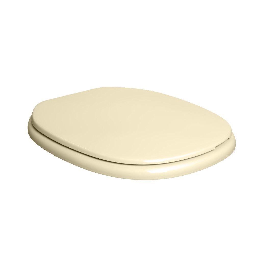 Assento Plástico Com Microban Fast/Aspen Deca Creme Ref. AP.75.37