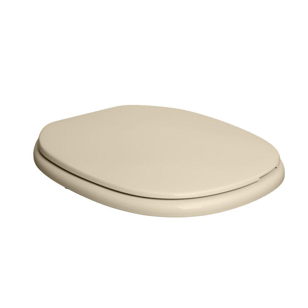 Assento Plástico Com Microban Monte Carlo Deca Creme Ref. AP.80.37