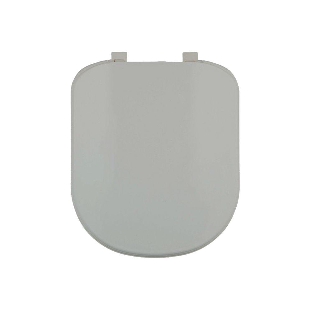 Assento Plástico Com Microban Vogue Plus Deca Cinza Ref. AP.50.87
