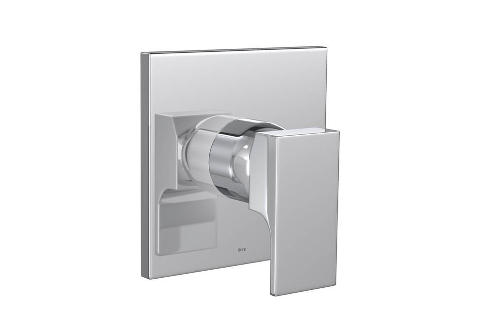 Acabamento Monocomando Alta Pressão e Baixa Pressão Para Ducha Higiênica Unic Cromado Deca Ref. 4993.C90.ACT