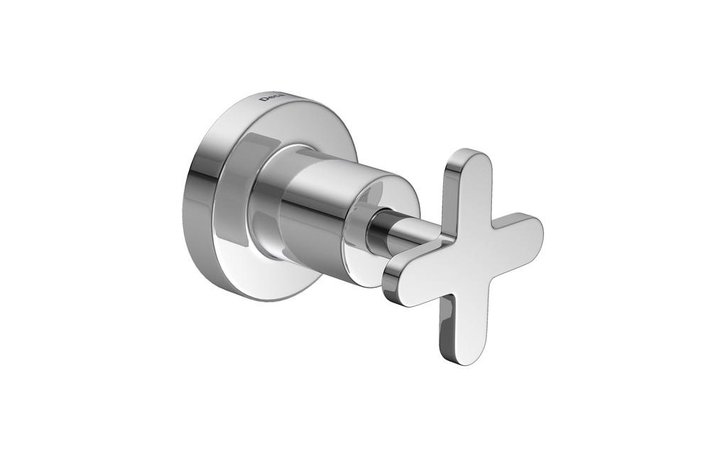 Acabamento Para Registro de Pressão Com Mecanismo 1/2 Volta Disco Cromado Deca Ref. 4916.C.DSC.PQ
