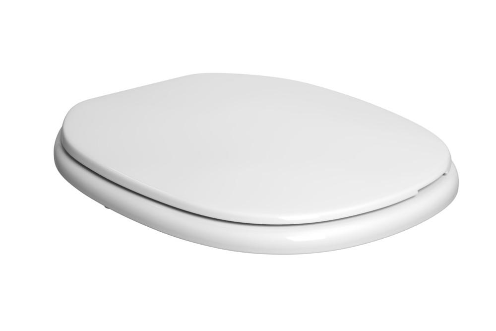 Assento Plástico Com Microban Fast/Aspen Deca Branco Ref. AP.75.17
