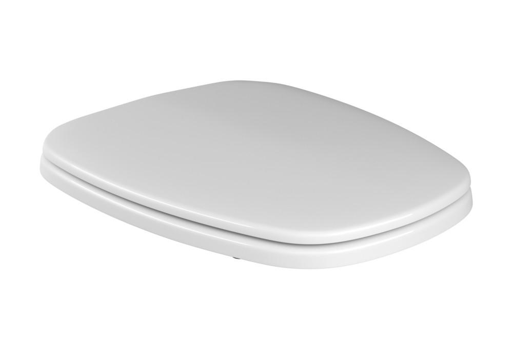 Assento Plástico Com Microban Monte Carlo Deca Branco Ref. AP.80.17