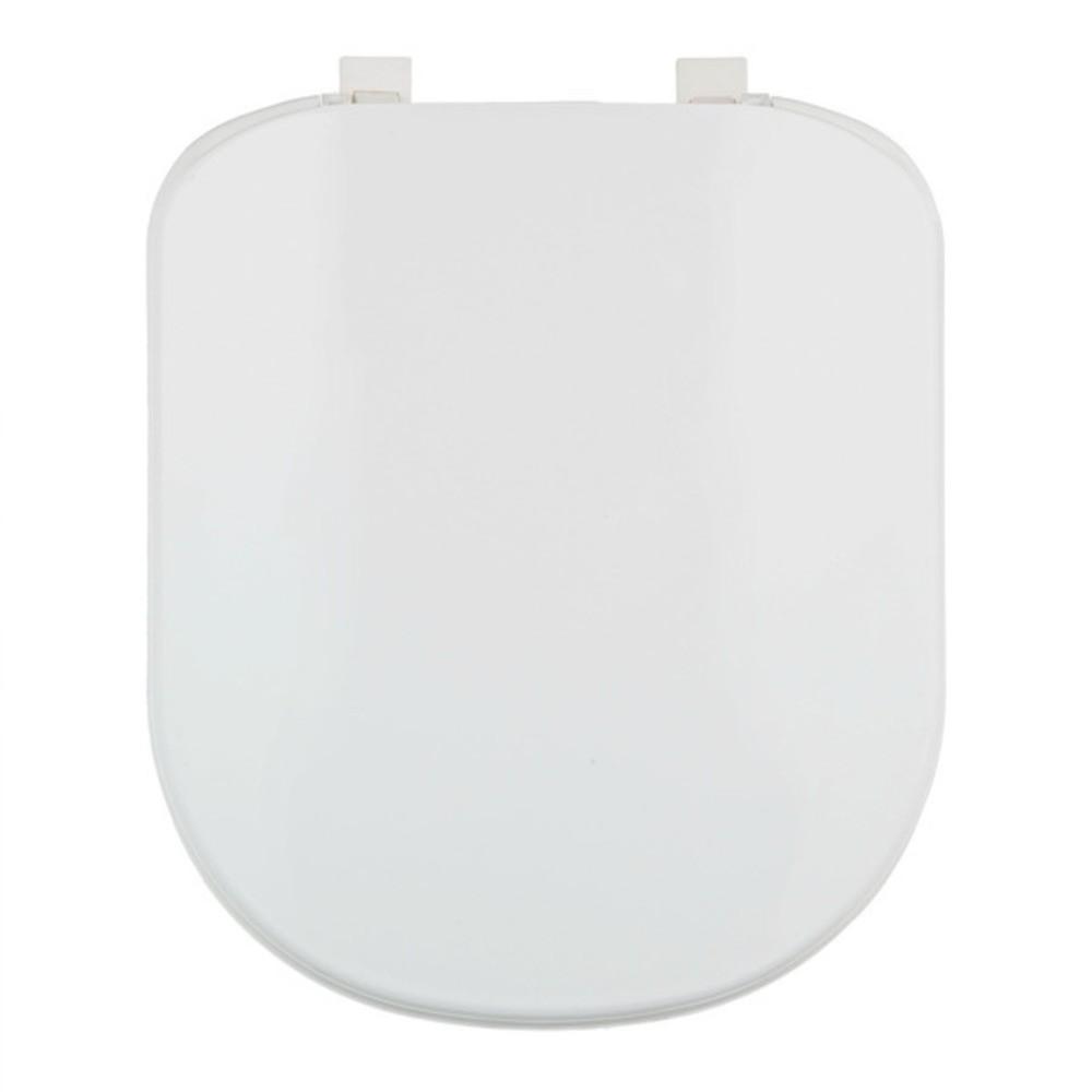 Assento Plástico Com Microban Vogue Plus Deca Branco Ref. AP.50.17