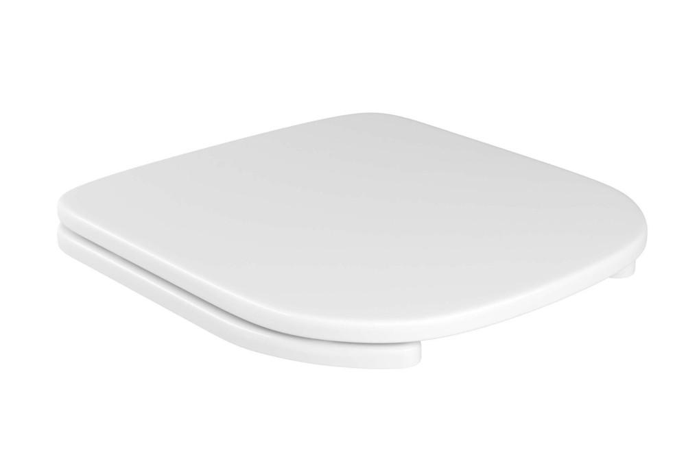 Assento Poliéster Com Abertura Frontal e Microban Vogue Plus Conforto Deca Branco Ref. AP.52.17