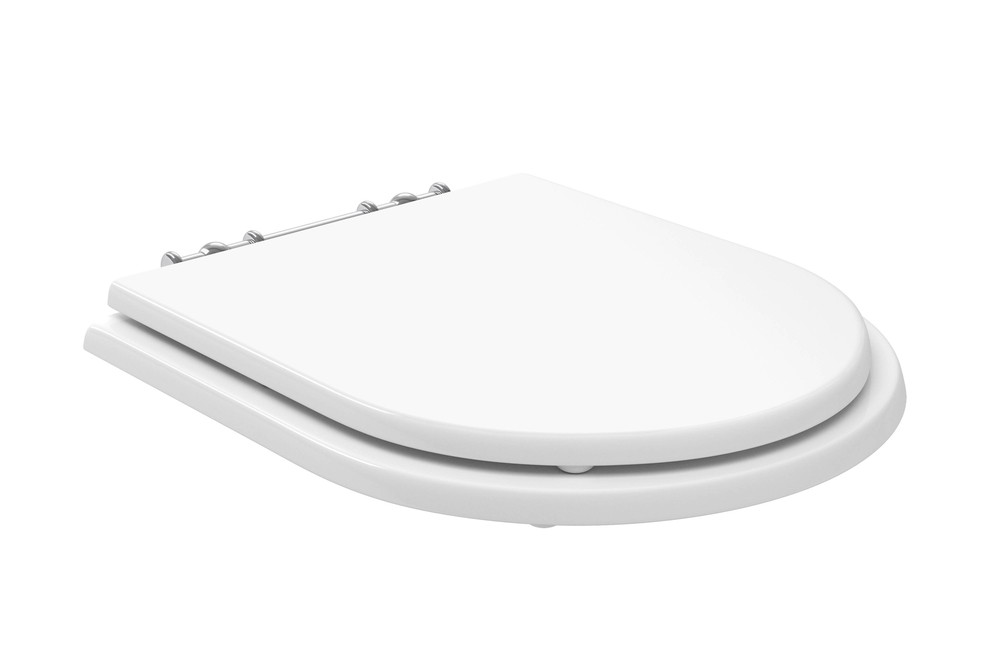 Assento Poliéster Com Microban Belle Époque/Oxford Deca Branco Ref. AP.22.17