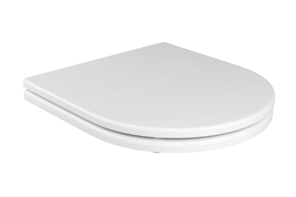Assento Poliéster Com Microban Carrara/Duna/Lk/Nuova Deca Branco Ref. AP.23.17