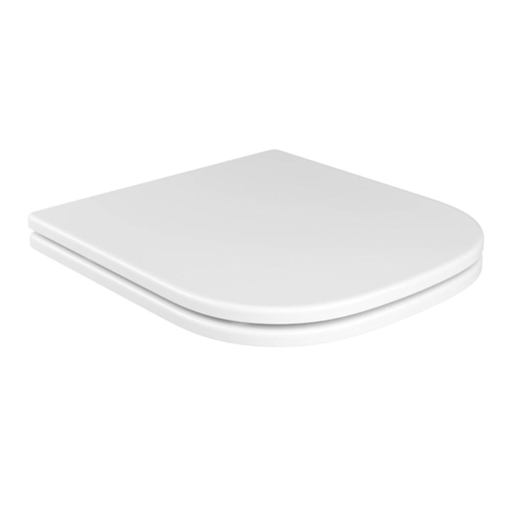 Assento Poliéster Com Microban Quadra/Polo/Unic Deca Branco Ref. AP.21.17