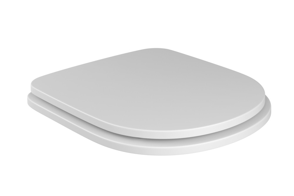 Assento Poliéster Com Microban Vogue Plus Deca Branco Ref. AP.51.17