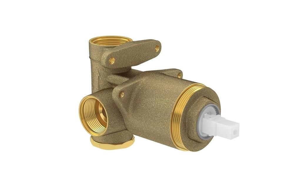 Base Monocomando de Chuveiro Para Baixa Pressão e Alta Pressão Bruto Deca Ref. 4493000