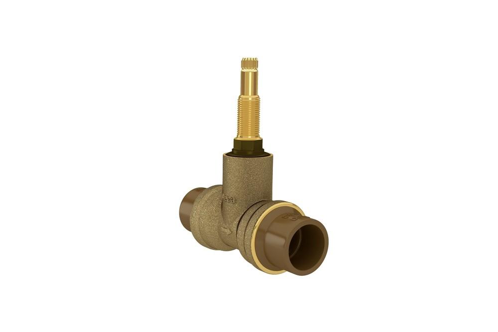 Base Registro de Pressão MVS Para PVC Bruto Deca Ref. 4416.202.PVC