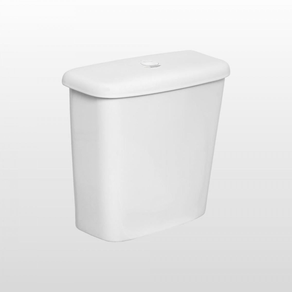 Caixa Acoplada Mecanismo de Flux Aspen/Izy/Ravena Deca Branco Ref. CD.00F.17