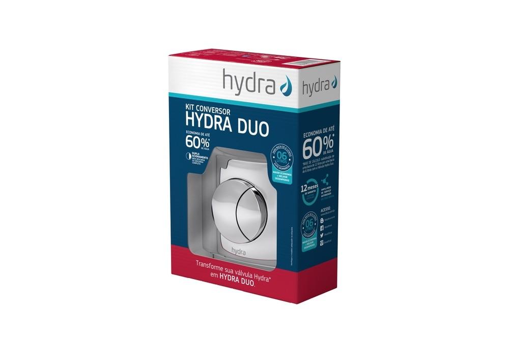 Kit Conversor Para Hydra Duo Max Cromado Deca Ref.  4916.C.112.DUO