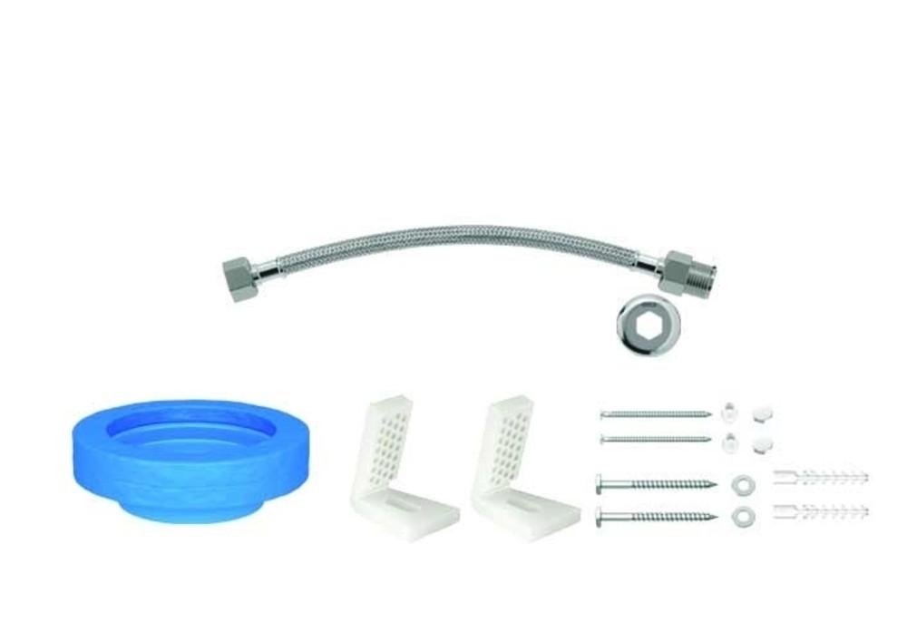Kit de Instalação Para Bacia Com Caixa Com Fixação Lateral Cromado Deca Ref. 1201.C.KIT.PCD