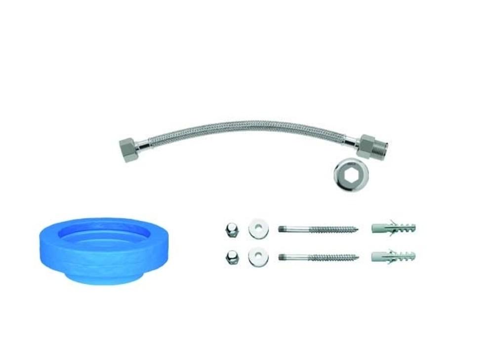 Kit de Instalação Para Bacia Com Caixa Com Fixação Vertical Cromado Deca Ref. 1200.C.KIT.PCD