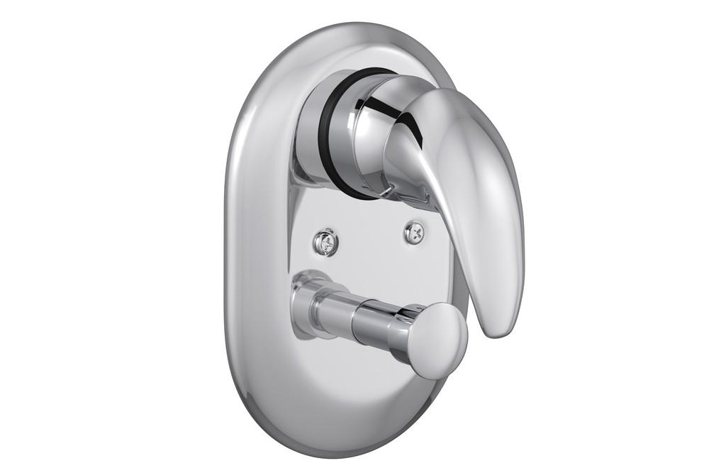 Misturador Monocomando 4 Vias de Chuveiro Com Desviador Para Banheira Smart Cromado Deca Ref. 2994.C71