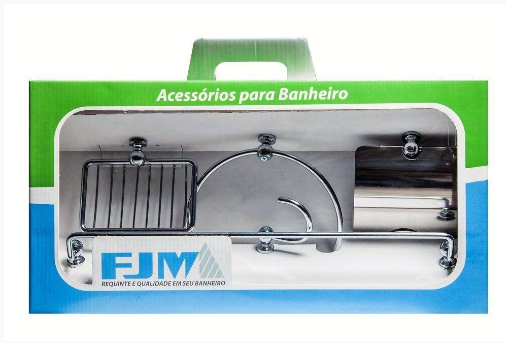 FJM KIT ACESSORIOS P /BANHEIRO MODERN 5 PC J620