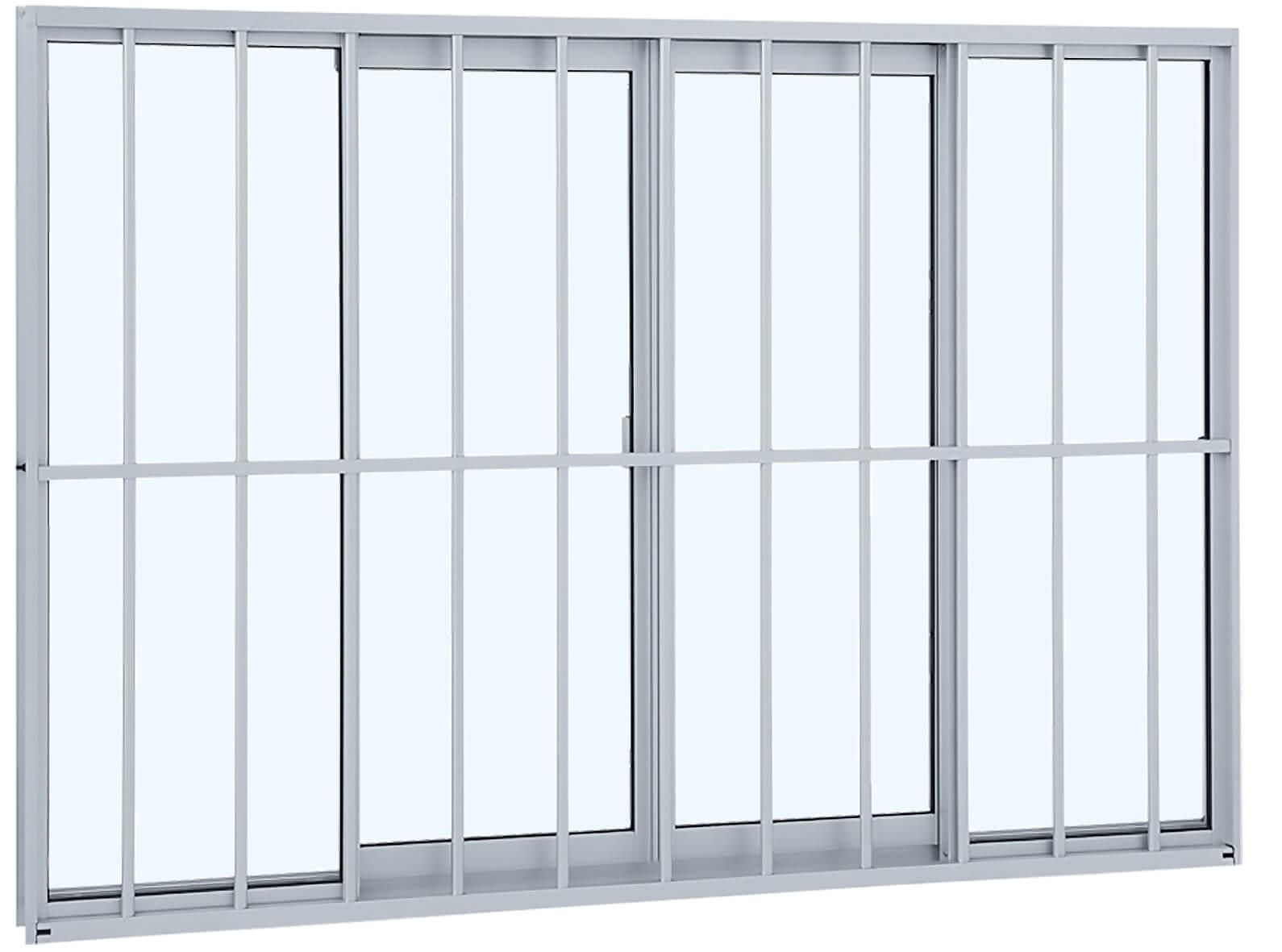 Alumifit Janela de Correr - 1.00x1.50x6.5 Ref. 78.10.601-8 Sasazaki