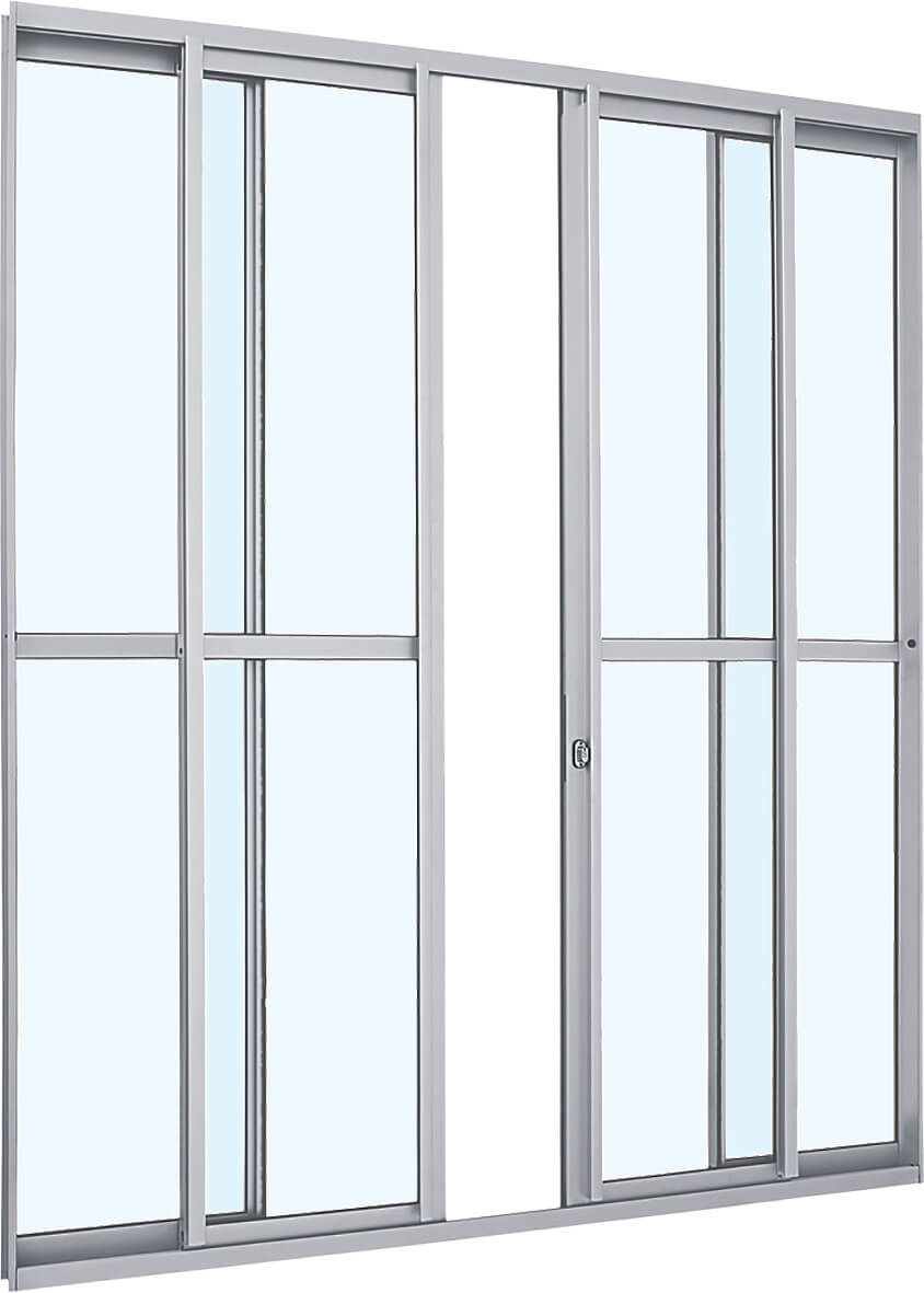 Alumifit Porta de Correr - 2.16x2.00x6.60  Ref. 78.50.101-4 Sasazaki