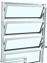 Alumifort Janela Basculante - 0.80x0.60x3.3 Ref. 73.15.167-8 Sasazaki