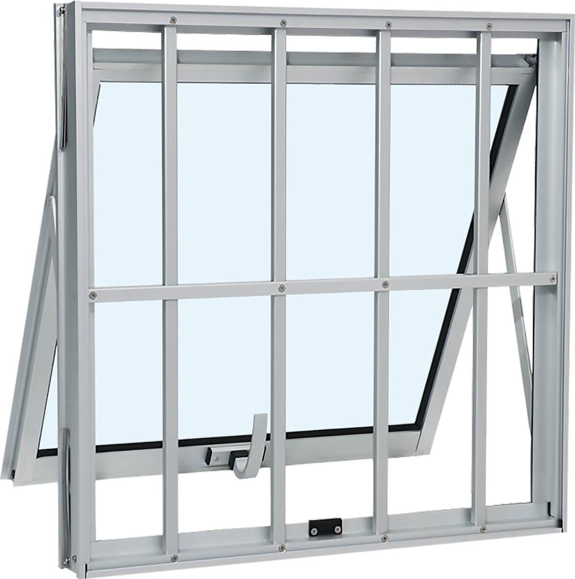 Alumifort Janela Maxim-Ar - 0.60x0.60x7 Ref. 72.05.423-7 Sasazaki