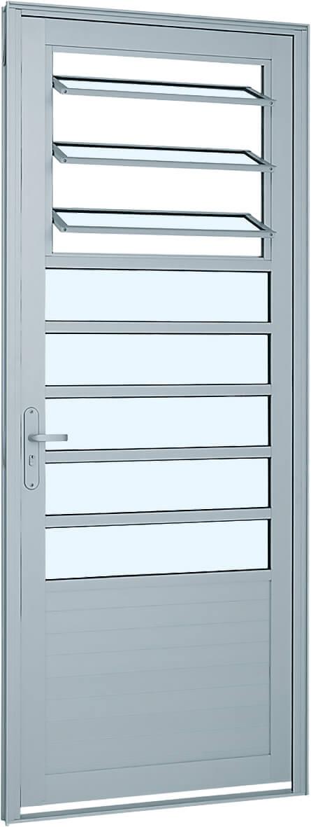 Alumifort Porta de Abrir - 2.16x0.88x5.4 Ref. 76.16.201-8 Sasazaki