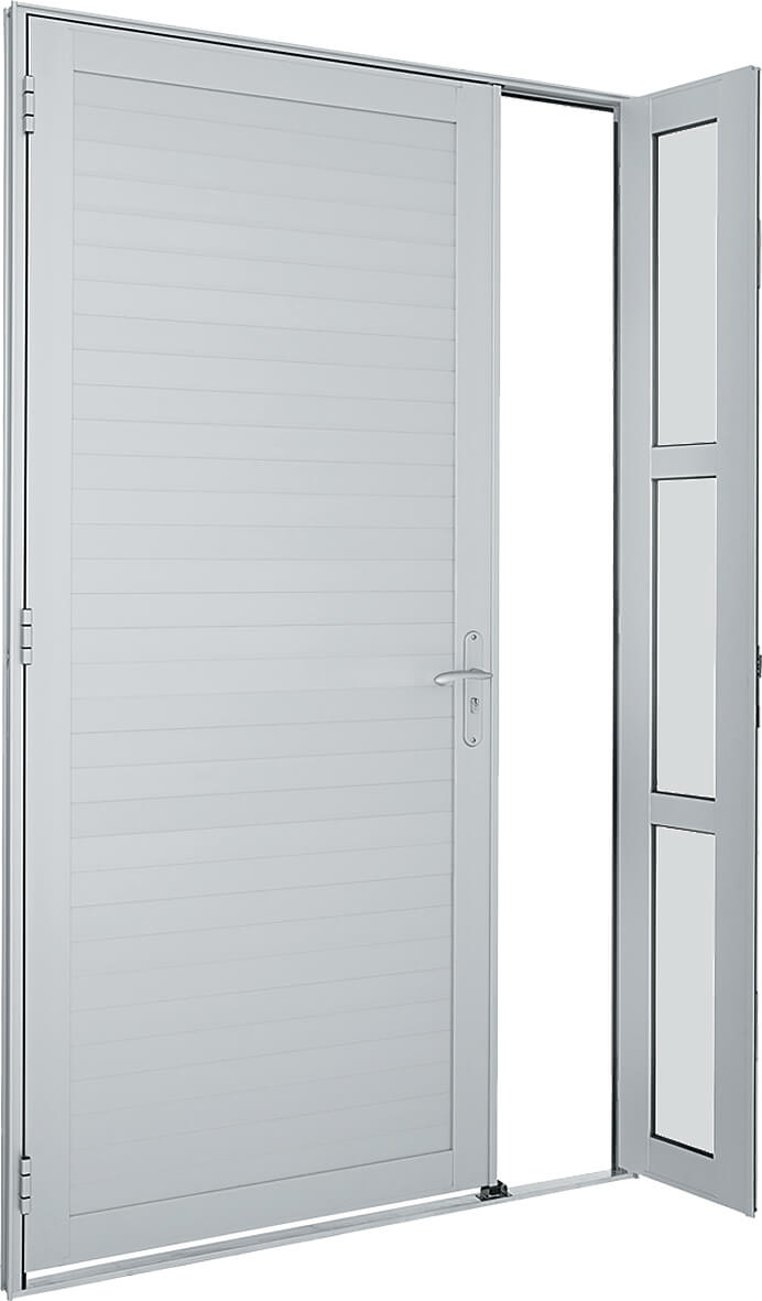Alumifort Porta de Abrir - 2.16x1.20x5.4 Ref. 76.35.070-1 Sasazaki