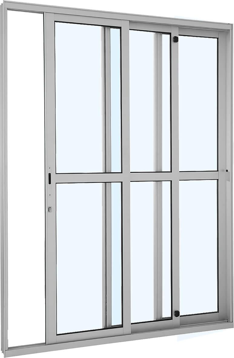 Alumifort Porta de Correr - 2.16x1.60x12.5 Ref. 77.13.647-9 Sasazaki