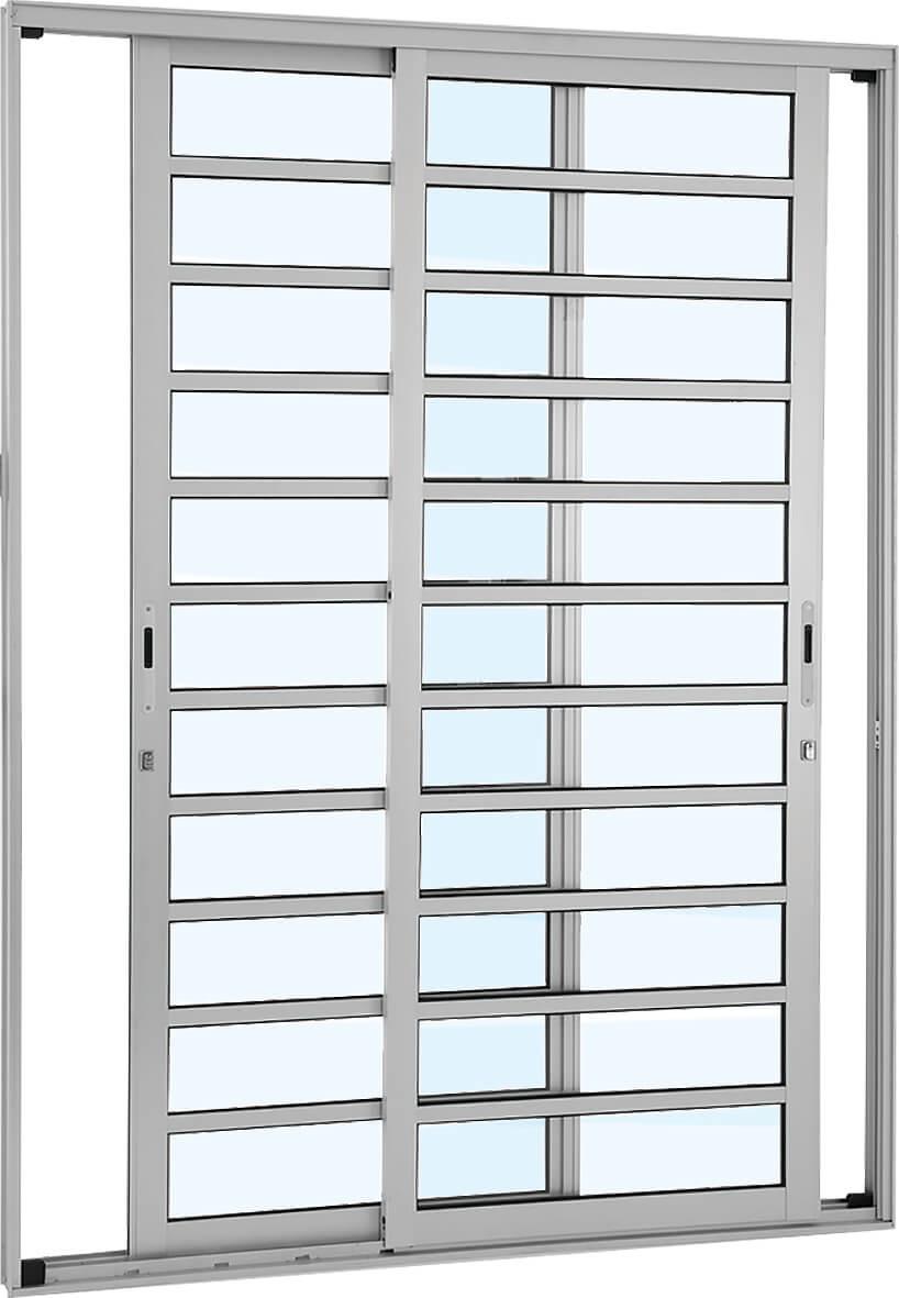 Alumifort Porta de Correr - 2.16x1.60x9.2 Ref. 77.13.555-3 Sasazaki