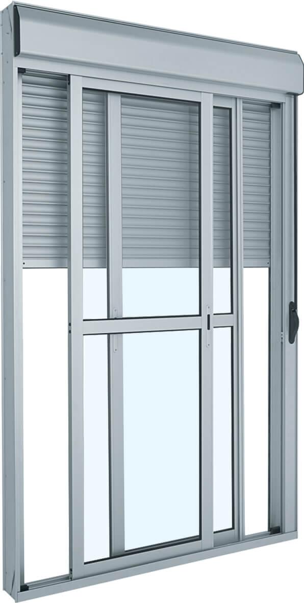 Alumifort Porta Integrada - 2.37x1.50x0.14 Ref. 75.11.031-6 Sasazaki