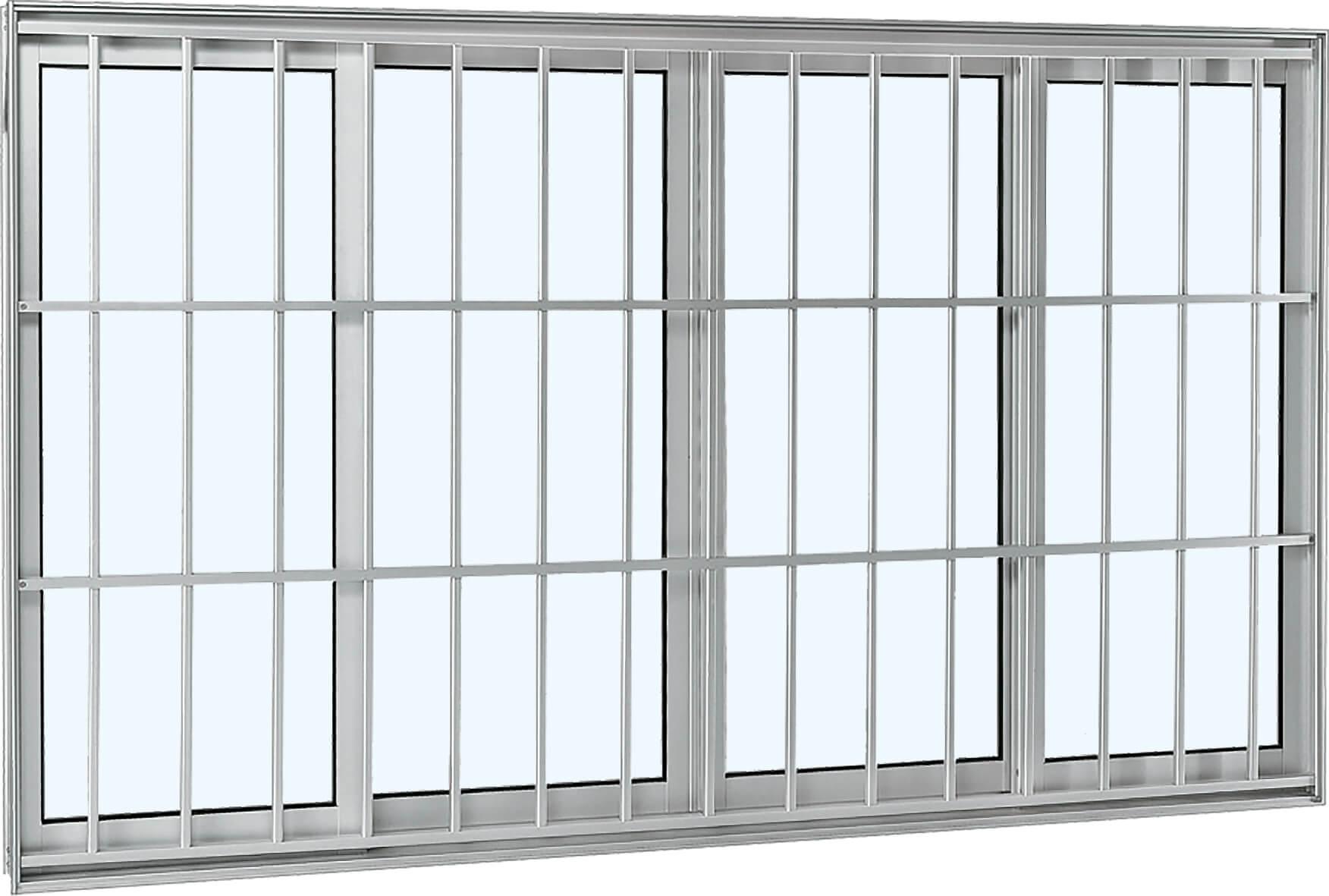 Aluminium Janela de Correr - 1.00x1.50x0.12 Ref. 70.62.605-5 Sasazaki