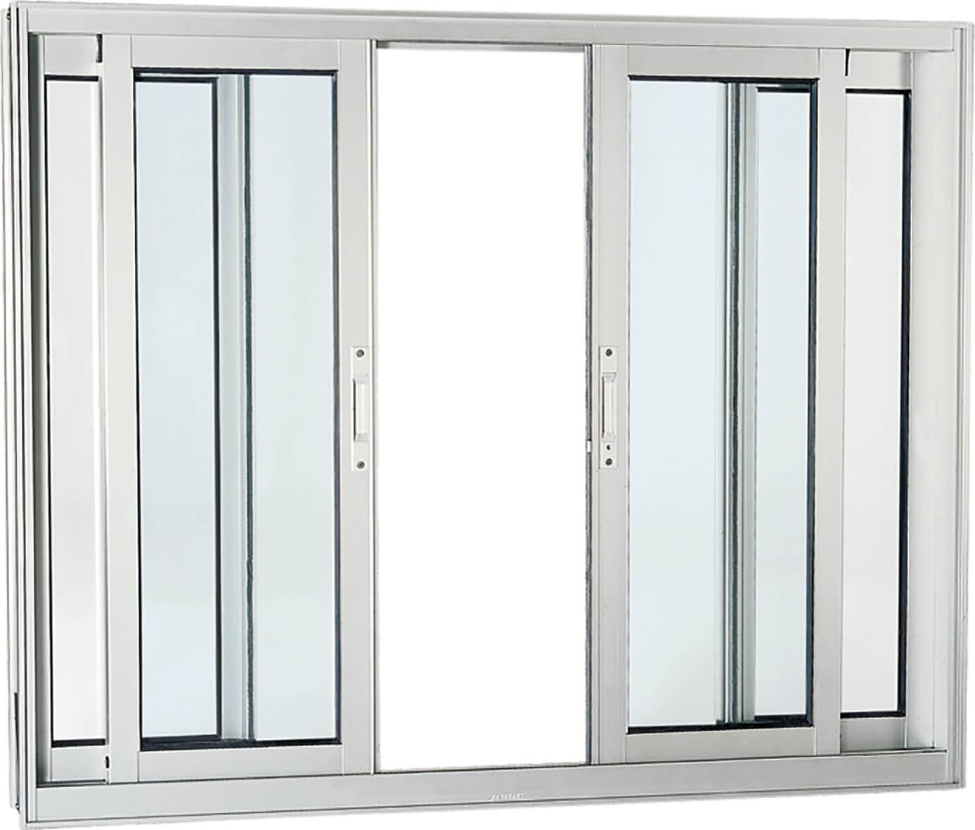 Aluminium Janela de Correr - 1.00x2.00x0.09 Ref. 70.61.608-4 Sasazaki