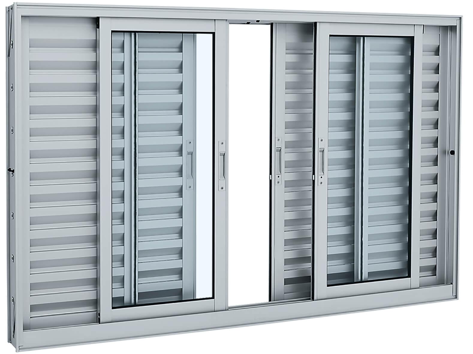 Aluminium Veneziana - 1.00x2.00x0.12 Ref. 70.21.607-8 Sasazaki