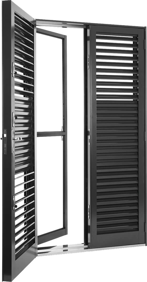 Silenfort Porta Balcão de Abrir Multiflex - 2.17x1.20x06 Sasazaki Ref. 66.71.002-5