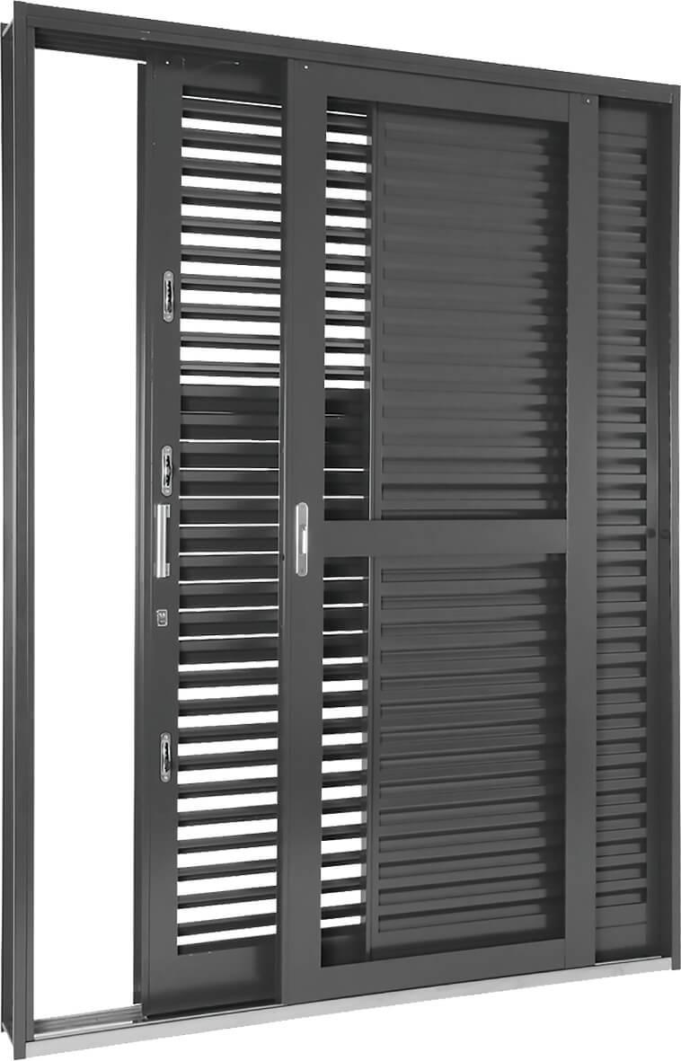 Silenfort Porta Balcão de Correr Multiflex - 2.17x1.60x16.5 Sasazaki Ref. 69.91.173-0