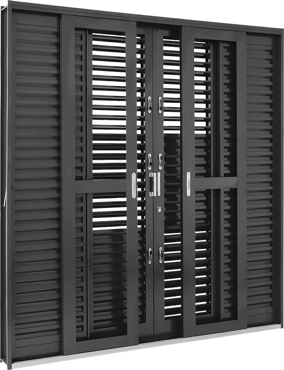 Silenfort Porta Balcão de Correr Multiflex - 2.17x2.00x16.5  Ref. 69.91.174-9
