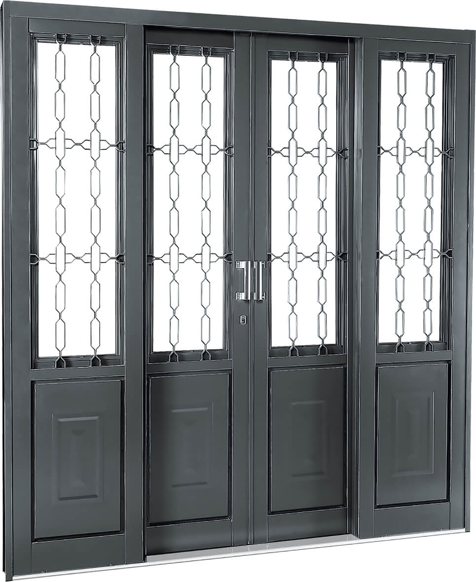 Silenfort Porta Social de Correr - 2.17x2.00x14 Sasazaki Ref. 69.11.200-5