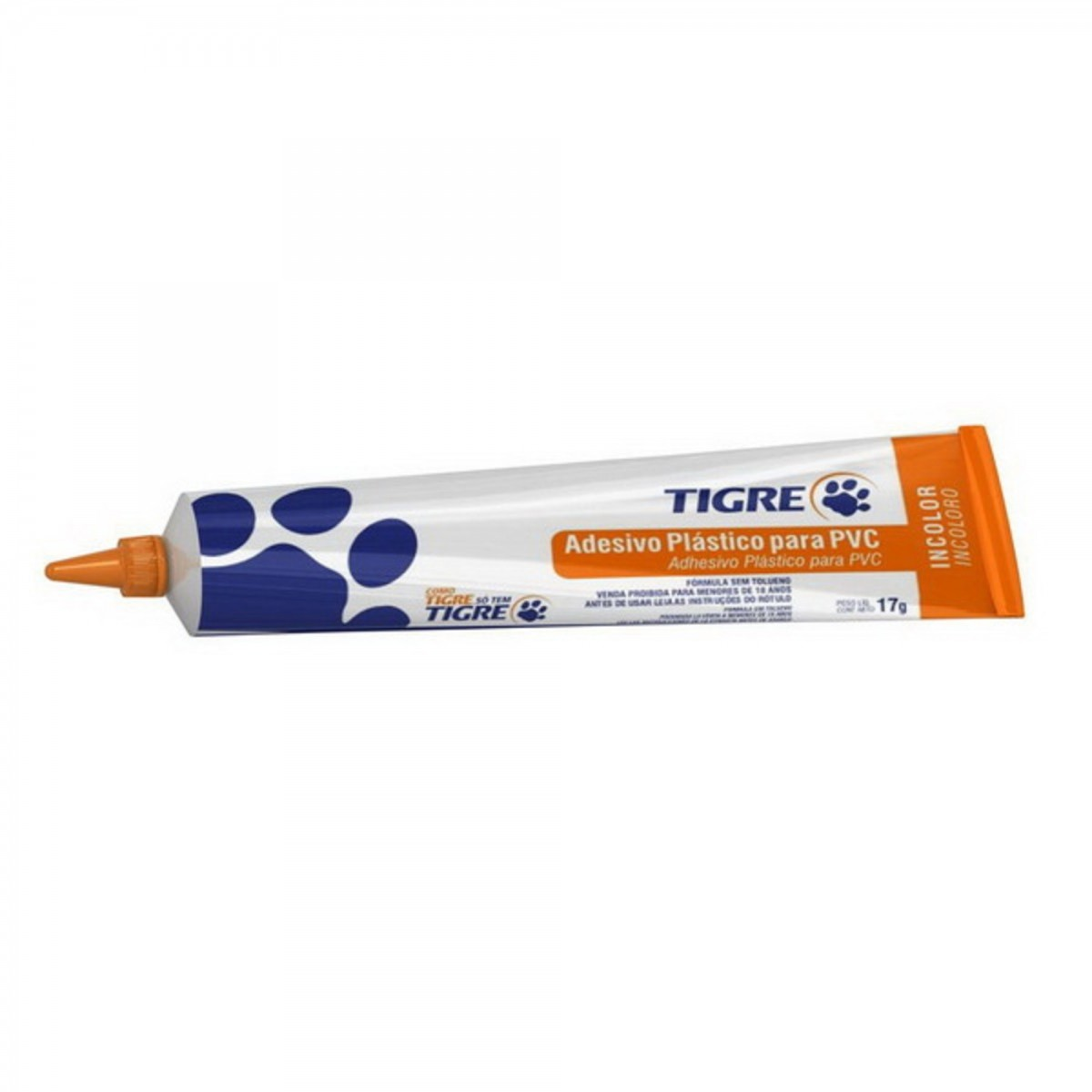 Adesivo Plástico Para PVC 17g Tigre