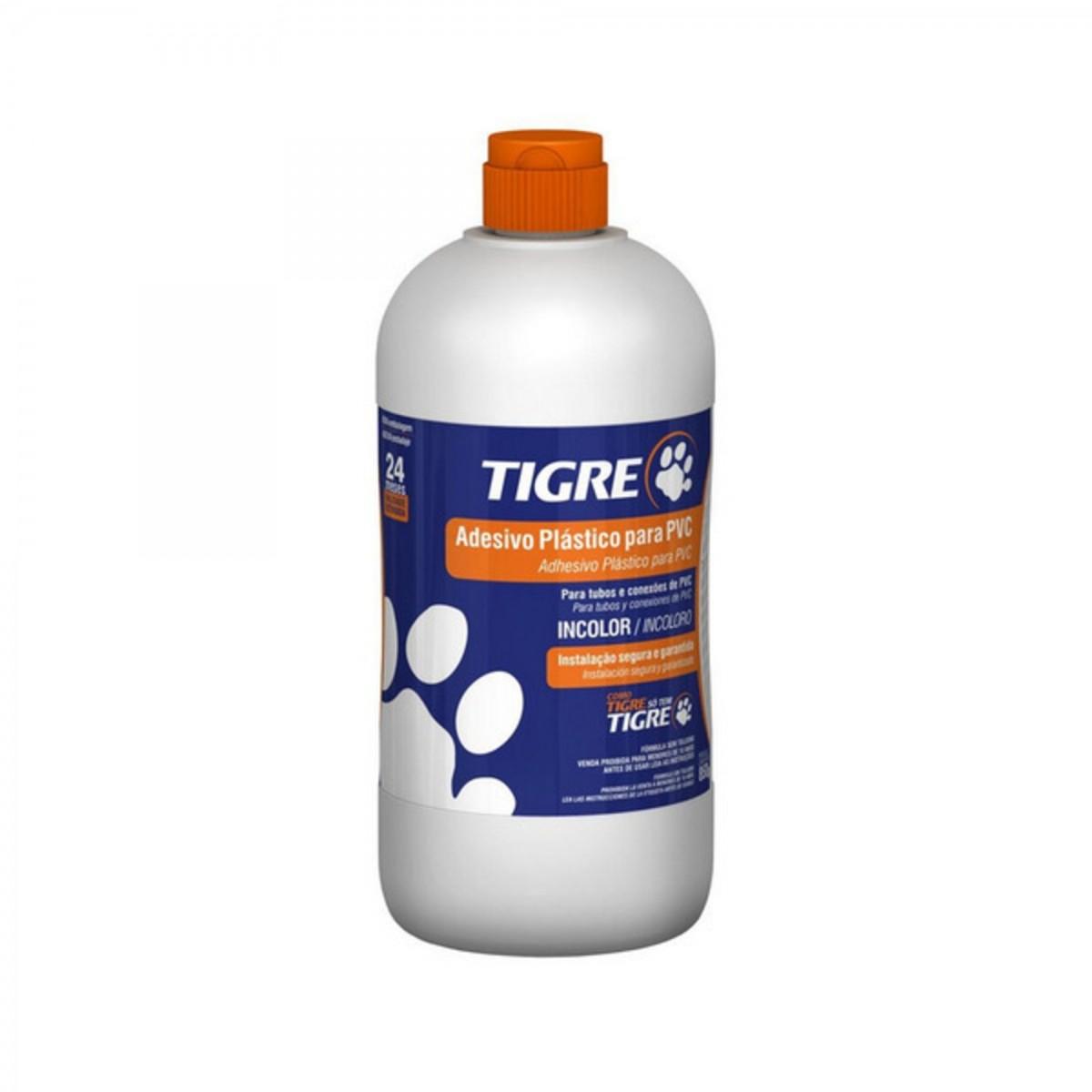 Adesivo Plástico Para PVC 850g Tigre
