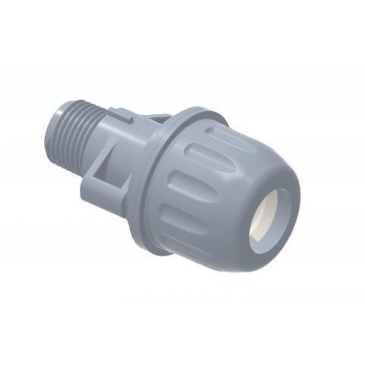 Ligação Adaptador de Compressão RM EM PP - 20mmx3/4'' Tigre