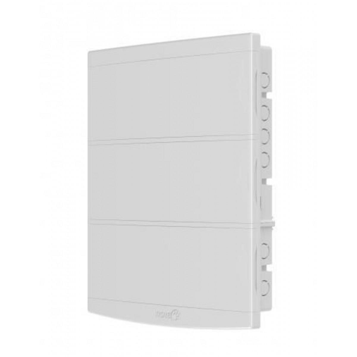 Quadro Distribuição S/Bar.Slim 48 Disjuntores - Tigre Branco