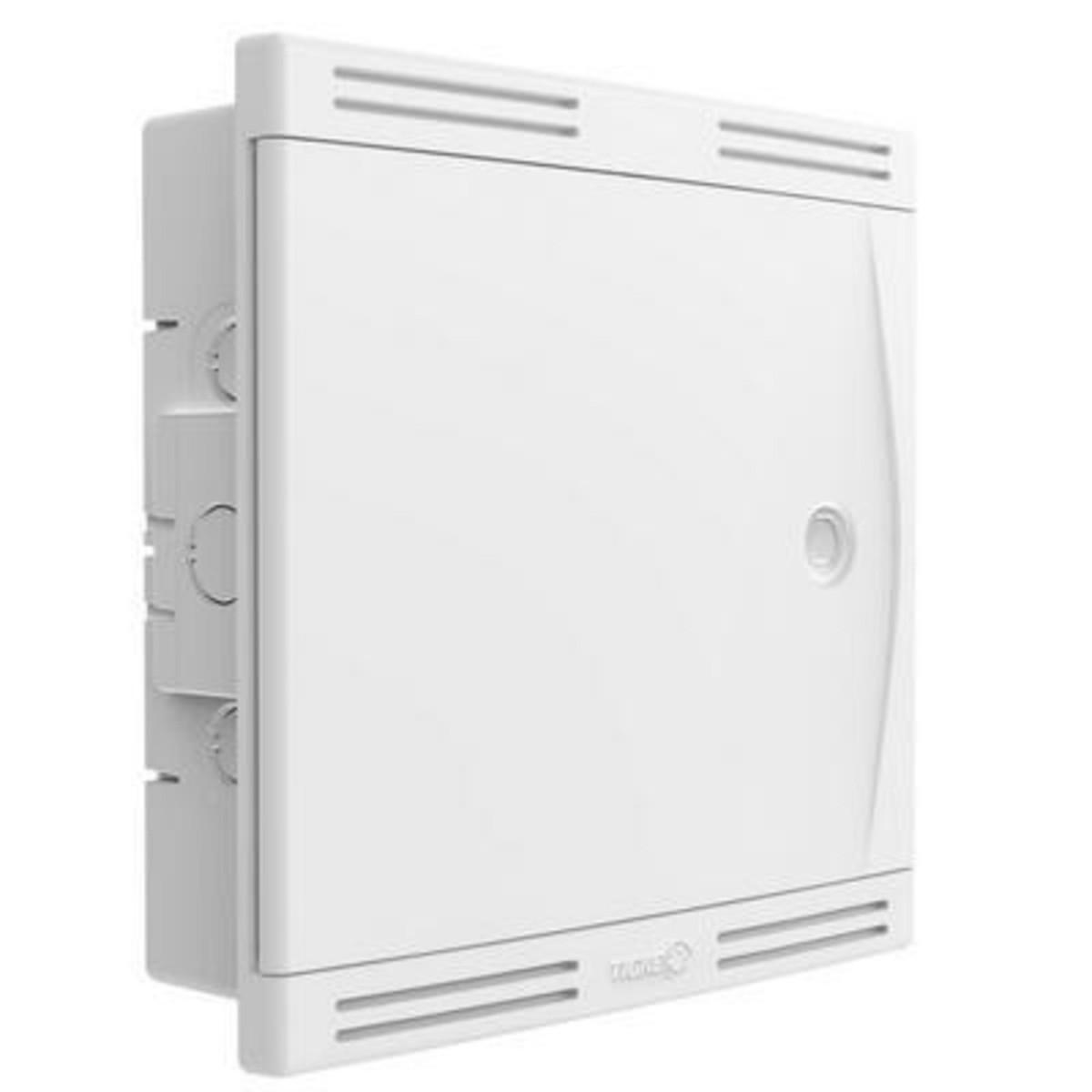 Quadro Sistema VDI Embutir 30x30 - Tigre Branco