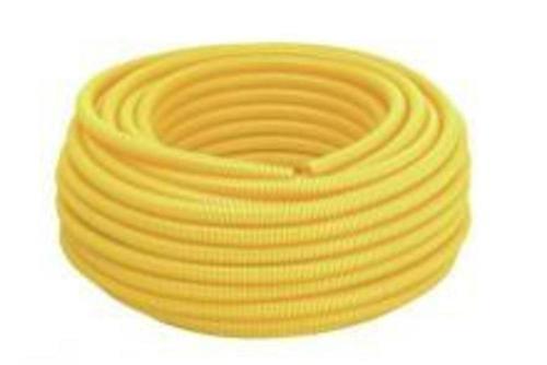 Tigreflex Eletroduto Flexível Corrugado 25mm (3/4) Tigre Amarelo