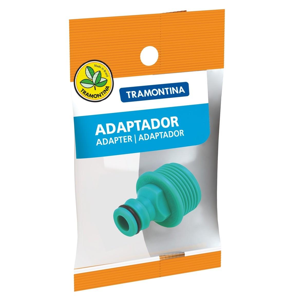 Adaptador Plástico Macho Rosca Externa de 3/4 Tramontina