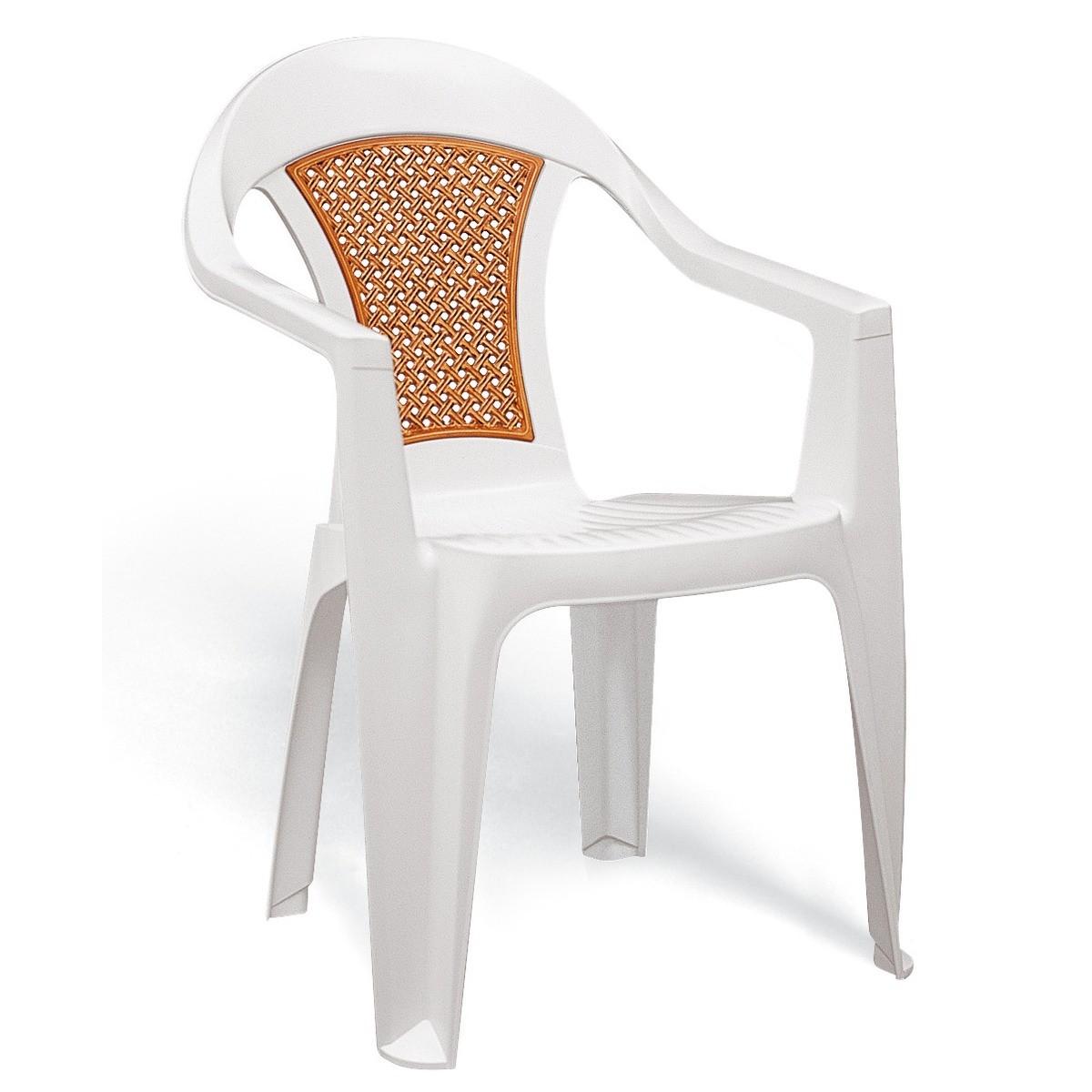 Cadeira Malibu Tramontina Branca Rádica