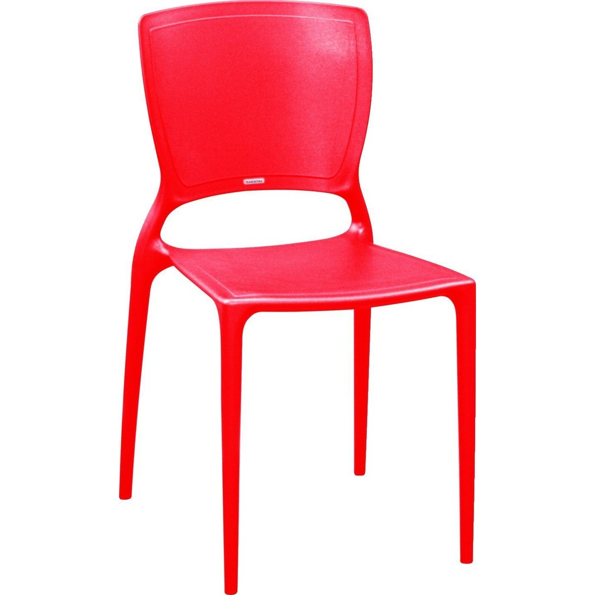 Cadeira Sofia Encosto Fechado Ref. 92236/040 Tramontina Vermelho